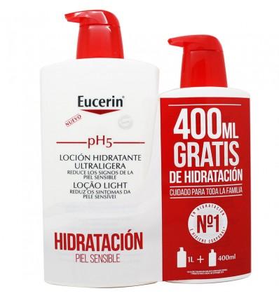 Eucerin Ph5 Lotion ultra-Light 1000 ml Geschenk 400 ml