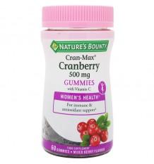 Nature's Bounty Cranberry 500mg Gummies 60 Gomas