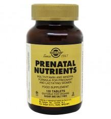 Solgar Nutrientes Prenatal 120 Comprimidos