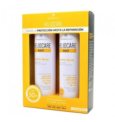 Heliocare 360 Invisível Spray Wet Skin 200 ml Duplo Oferta