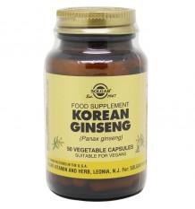 Solgar Ginseng Coreano 50 Capsulas