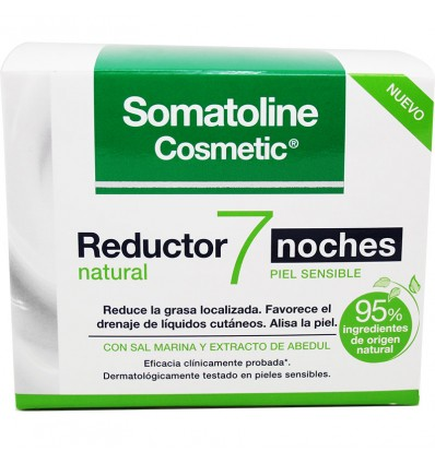 Somatoline Reductor 7 Noches Natural Piel Sensible 400 ml