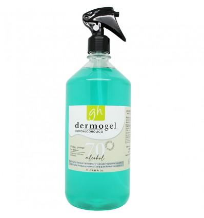 Gh Gel Hidroalcoholico Dermogel 70% Alcohol 1000 ml