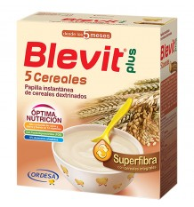 Blevit Plus Superfibra 5 Cereais 600 g