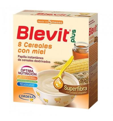 Blevit Superfibra 8 Cereales con Miel 600 g