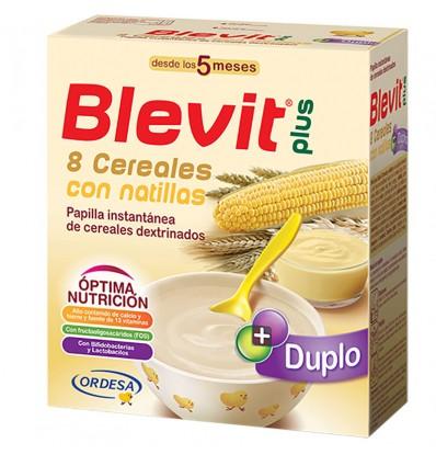 Blevit 8 Cereales Natillas 600 g