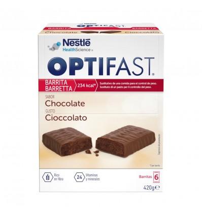 Tablettes de chocolat Optifast 6 unités
