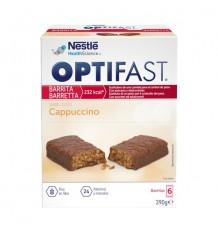 Barres à Cappuccino Optifast 6 unités