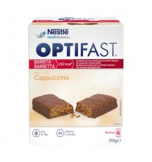 Optifast Barritas Capuchino 6 unidades