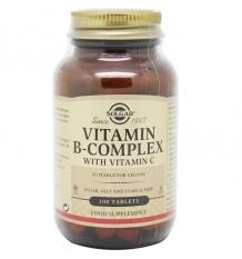 Solgar B-Complex Avec Vitamine C 100 Comprimés