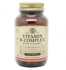 Solgar B-Komplex Mit Vitamin C 100 Tabletten
