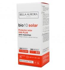 Bio10 Solaire Spf50 Uva, Plus Mixte, Peau Grasse 50 ml