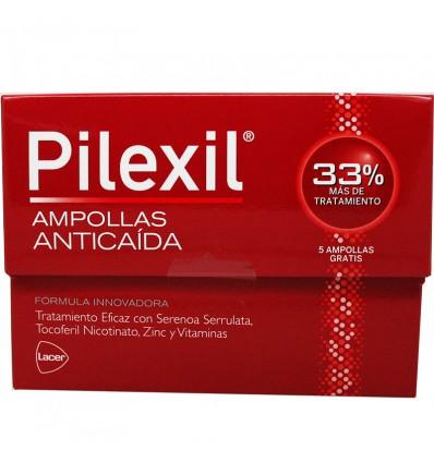 Pilexil Ampullen Anticaida 15 Stück + 5 Ampullen Geschenk