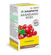 Arkocapsulas dans le Rouge Canneberge Cranberry 50 arkocaps