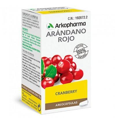 Arkocapsulas Mirtilo Vermelho Cranberry 50 arkocaps