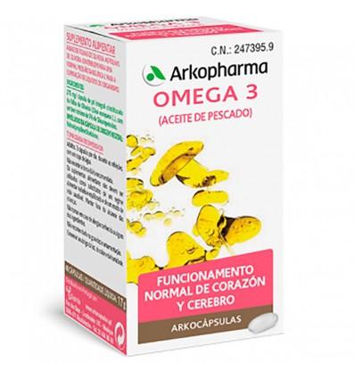 Arkocapsulas Omega 3 Óleo de Peixe 50 cápsulas