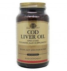 Oil of the Liver of Cod 250 Pearls Solgar