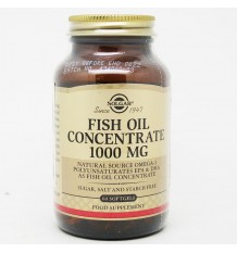 Concentrated Fish oil 1000mg 60 Capsules Solgar