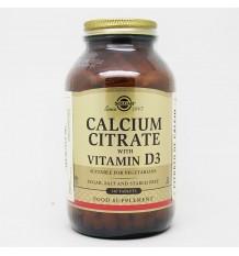 Solgar Citrate de Calcium avec de la Vitamine D3, 240 Comprimés