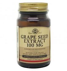 Solgar Extrait de Graine de Raisin 100 mg 30 Vegicaps