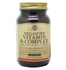 Solgar Megasorb B-Complex 50 100 Tablets