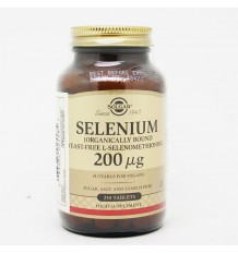 Solgar Selénio 200 250 mcg Comprimidos