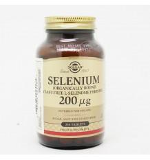 Solgar Selenio 200 mcg 250 Comprimidos