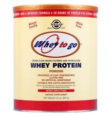 Solgar Whey to Go Protein 907g de Vanille