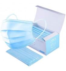 Mascarillas Higienicas Adulto Triple Capa Caja 50 Unidades