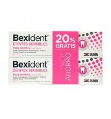 Pâte pour dents Sensibles Bexident 75ml + 75ml Duplo