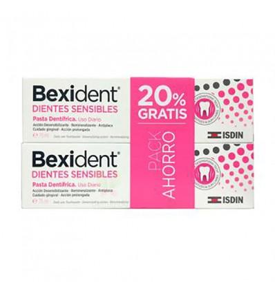 Bexident Dents Sensibles Dentifrice 75ml + 75ml Duplo