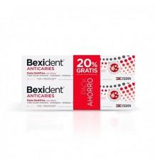 Bexident Anticaries Pasta 125ml + 125ml Duplo