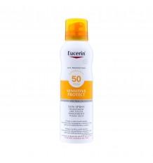Eucerin Sun Spray Transparent dry touch LSF 50+ 200ml