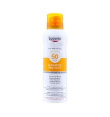 Eucerin Sun Spray Transparent sèche-touch SPF50+ 200ml