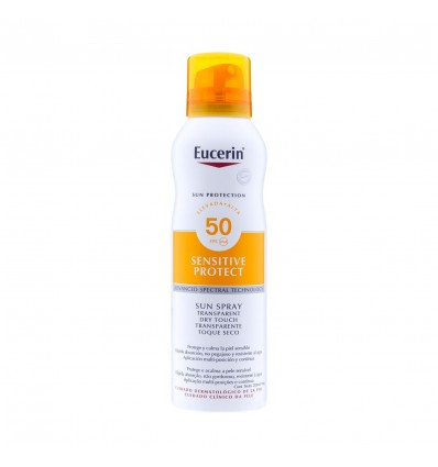 Eucerin Sun Spray Transparente toque seco SPF50+ 200ml