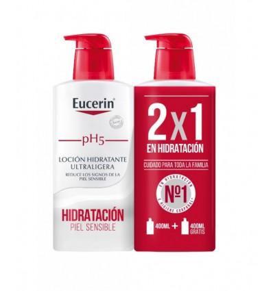 Eucerin Ph5 Lotion Enrichie de 400 ml+400 ml Duplo Épargne