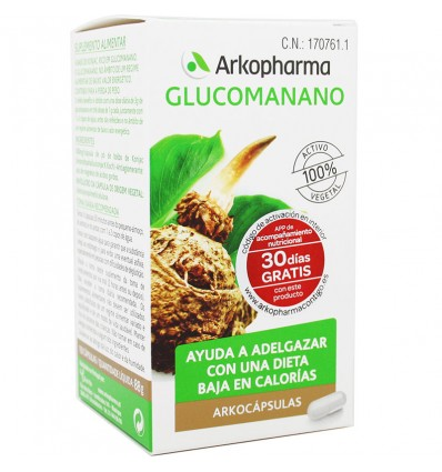 Arkocapsulas de Glucomannane de 150 gélules