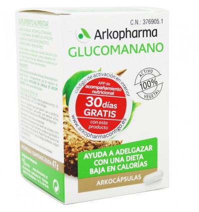 Arkocapsulas Glucomanano 80 capsulas
