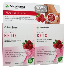 Arkodiet Keto Raspberry 300 30+30 capsules Duplo Savings