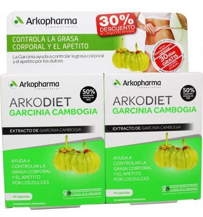 Arkodiet Garcinia Cambogia 45+45 Capsulas Duplo