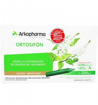Arkofluido Ortosifon Bio 20 ampollas