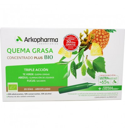 Arkofluido Quemagrasa Concentrate Plus Bio 20 Days