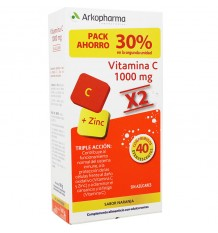ArkoVital Vitamin C 20+20 Tablets Duplo