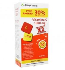 ArkoVital Vitamina C+Zinc 20+20 Comprimidos Duplo