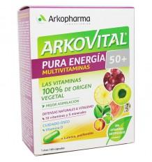 Arkovital De L'Énergie Pure 50+ 60 Gélules