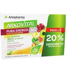 Arkovital Pura Energia 50+ 60+60 Cápsulas