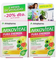 Arkovital Pure Energy 30+30 Tablets Duplo