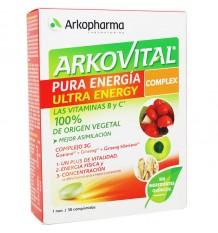 Arkovital De L'Énergie Pure Complexe De 30 Comprimés