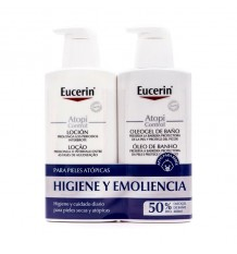 Eucerin Atopicontrol Lotion 400ml+ Oleogel Bath 400 ml