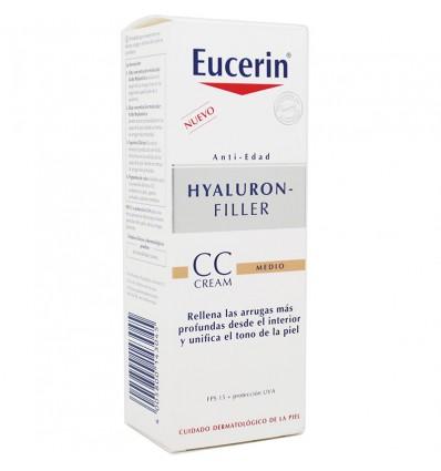 Eucerin Hyaluron Filler CC Cream Fps15 Medio 50 ml